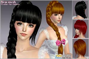 Женские прически (длинные волосы) 2203