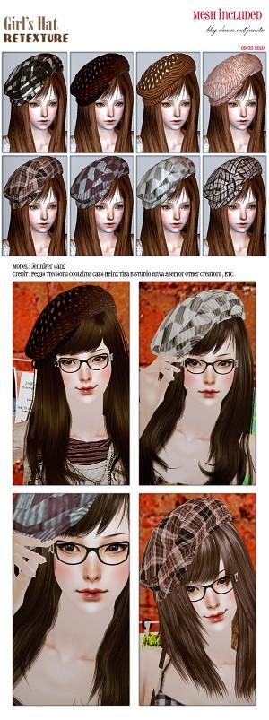 Головные уборы, шляпы - Страница 4 2235