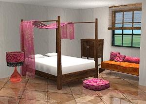 Спальни, кровати (восточные мотивы) - Страница 3 Forum286