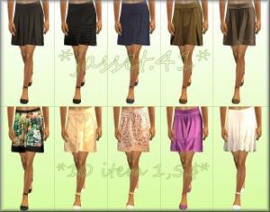 Повседневная одежда (юбки, брюки, шорты) Forum73