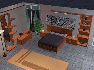 Спальни, кровати (модерн) - Страница 6 Lsr166