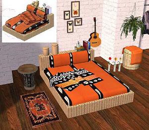 Спальни, кровати (восточные мотивы) Lsr271