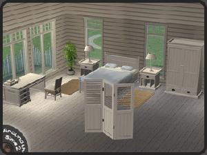 Спальни, кровати (деревенский стиль) Lsr342