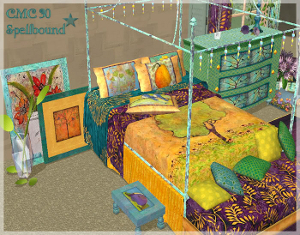 Спальни, кровати (деревенский стиль) Lsr343