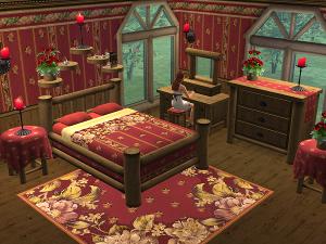Спальни, кровати (деревенский стиль) - Страница 3 Lsr349