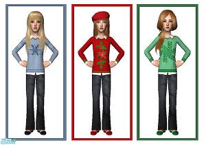 Для детей (повседневная одежда) - Страница 2 Lsr641