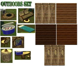 Дворовые объекты, строительный декор Lsrd85