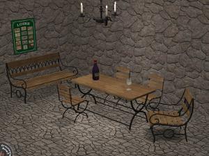 Патио, скамейки Lsrd92