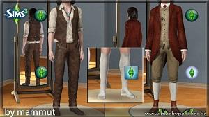 Старинная одежда, костюмы W-600154