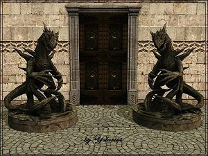 Фонтаны, статуи - Страница 2 W-600219