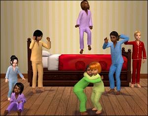 Для детей (нижнее белье, пижамы, купальники) - Страница 3 W-600256