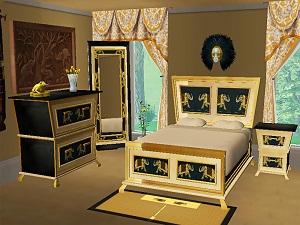 Спальни, кровати (восточные мотивы) - Страница 3 W-600h23