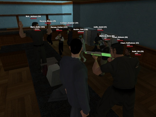 bank robbery at my role play server Bank_r10