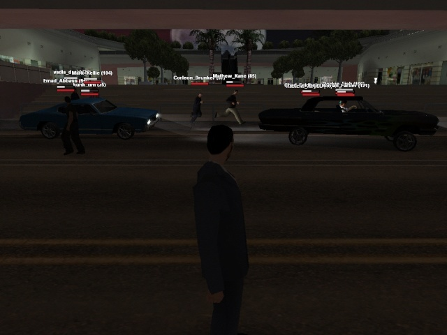 bank robbery at my role play server Cars10