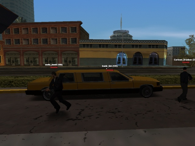 bank robbery at my role play server Limo10