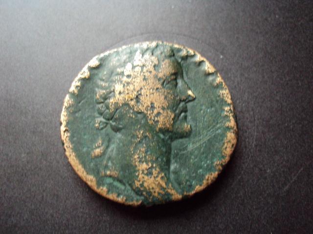 sesterce d'Antonin le Pieux Dsc01318