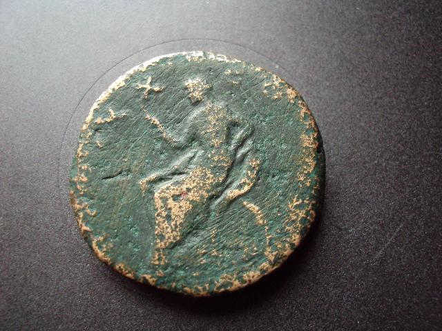 sesterce d'Antonin le Pieux Dsc01319