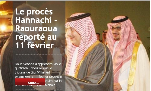 [Dossier] : Affaire Raouraoua - Hannachi - Page 10 20110116