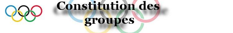 Jeux Olympiques du monde GC - Suivi du projet. Const-10