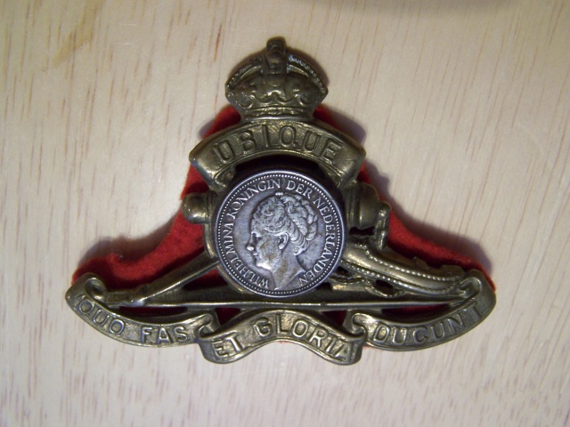 Royal Canadian Artillery Badge Modified Rcabad11