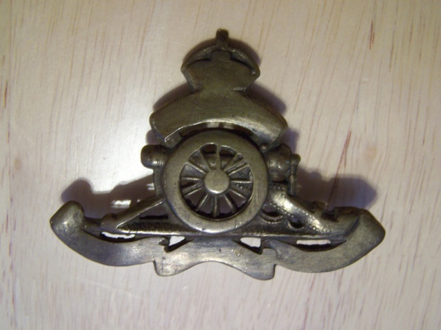 Royal Canadian Artillery Badge Modified Rcabad12