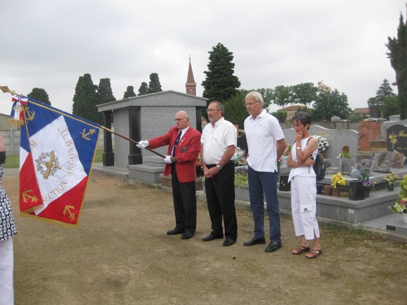 Dépose d'une plaque à la mémoire de notre camarade Alain RUAUX Img_2514