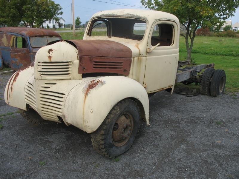 recherche pick-up pour rat rod Camion25