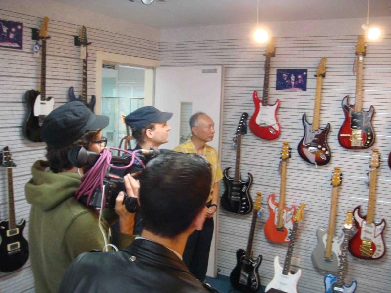 Equipe TV française interview Inophis en Chine 在中国一个法国电视台的记者给Inophis的一个采访 Dsc00710