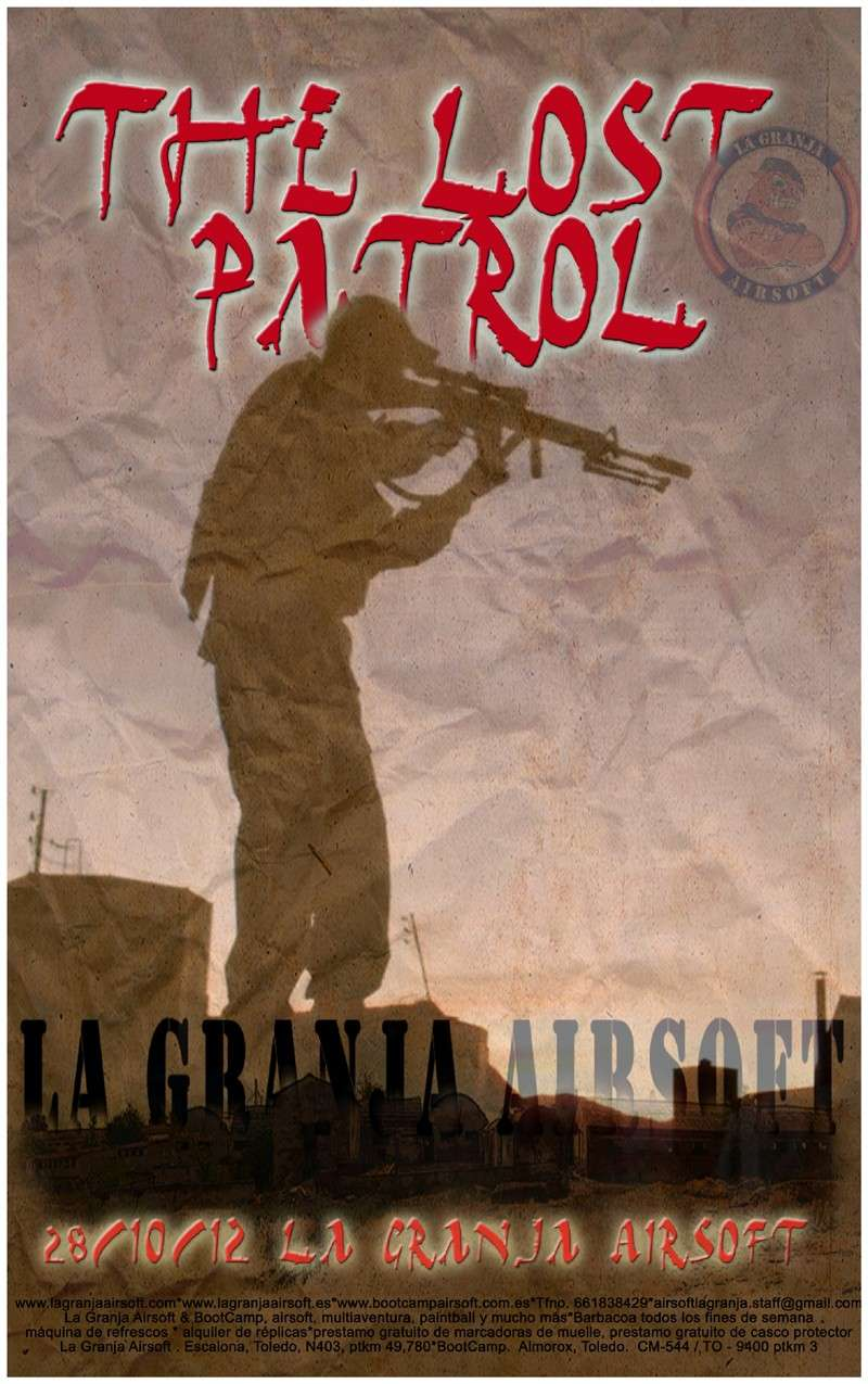 28/10/12 The Lost Patrol - Partida abierta - La Granja Airsoft The_lo10