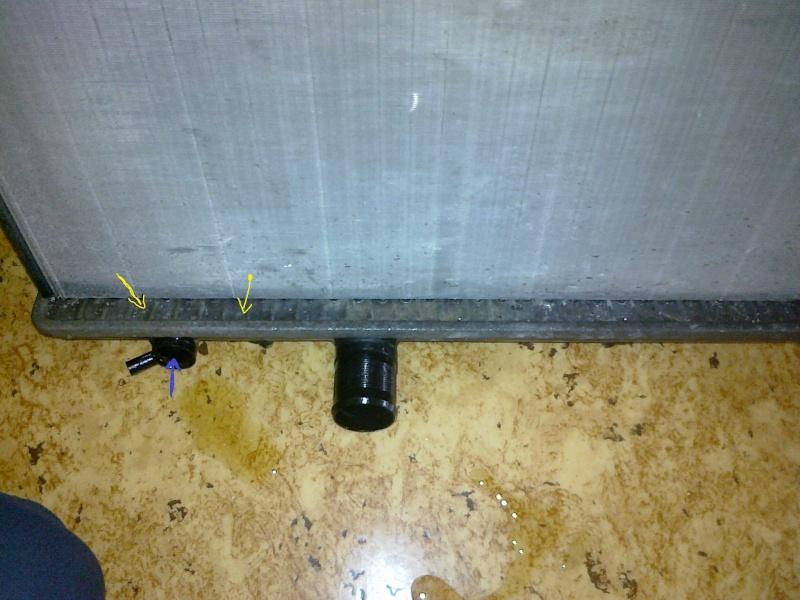 fuite radiateur 1.4 essence 26072012