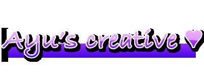 Ayu's créative  [MAJ 1/08/10] 10
