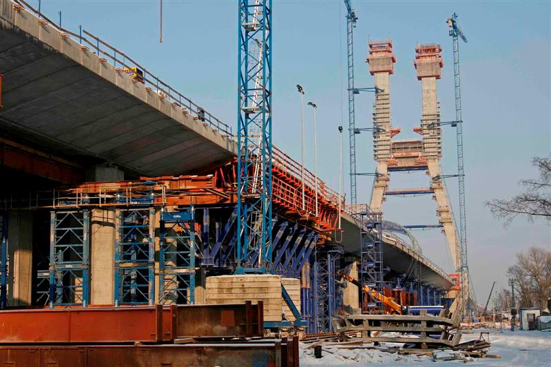 pont autoroutier en pologne T10