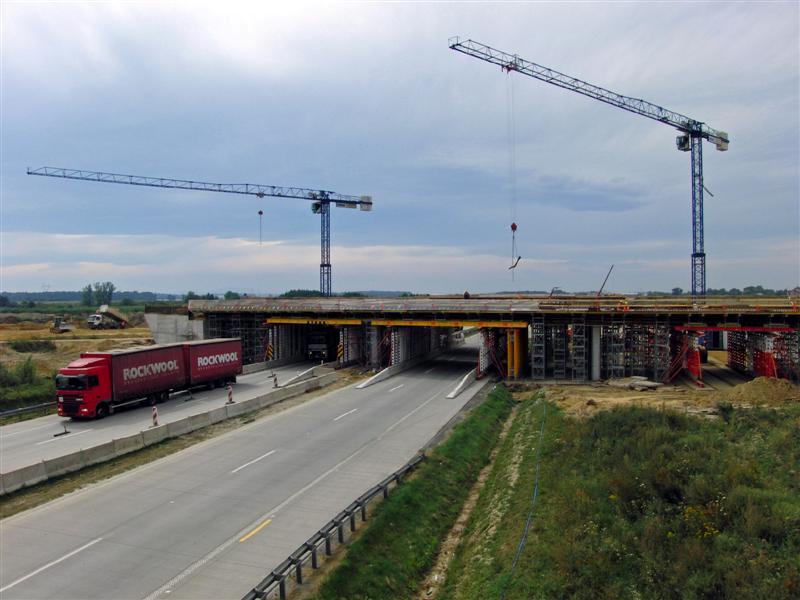 pont autoroutier en pologne U11