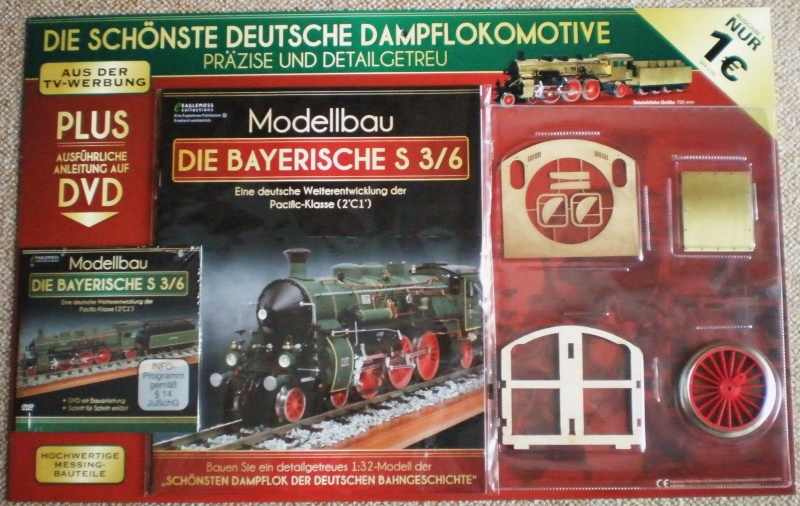 Etappenbausatz Bayerische S 3/6 Bay_s310