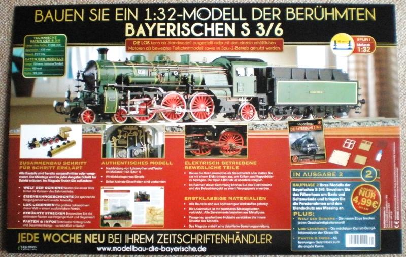Etappenbausatz Bayerische S 3/6 Bay_s311