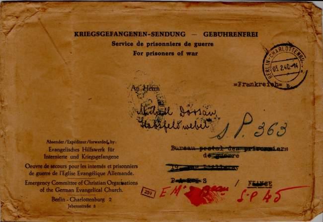 Prisonniers de guerre allemand 1939/40 en France. 1940_p10