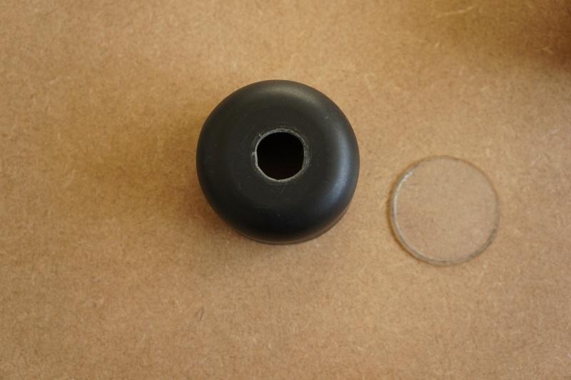 A watertight housing for an 808 key fob camera. Dsc00413