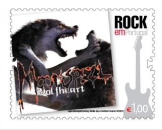 "Moonspell: capa do""Wolfheart"" estampa em selos portugueses Moonsp10"