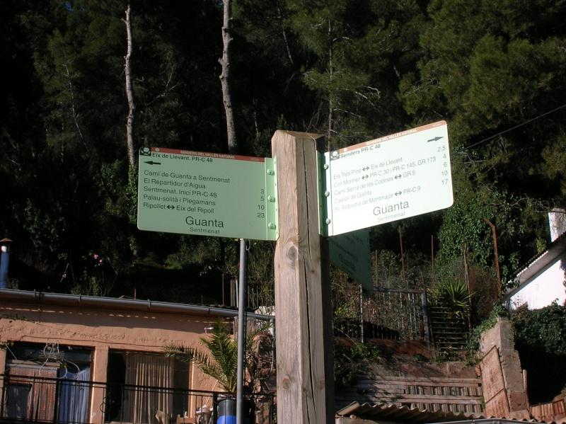 Salida Santa Perpètua- Castell de Guanta  Dscn3712