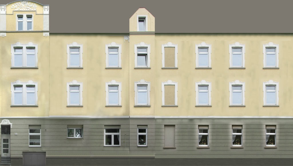 Details von (Altbau-)häusern Wand10