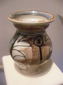 vase marked TC or R - Judith Partridge, Rodmell Pottery  Potter56
