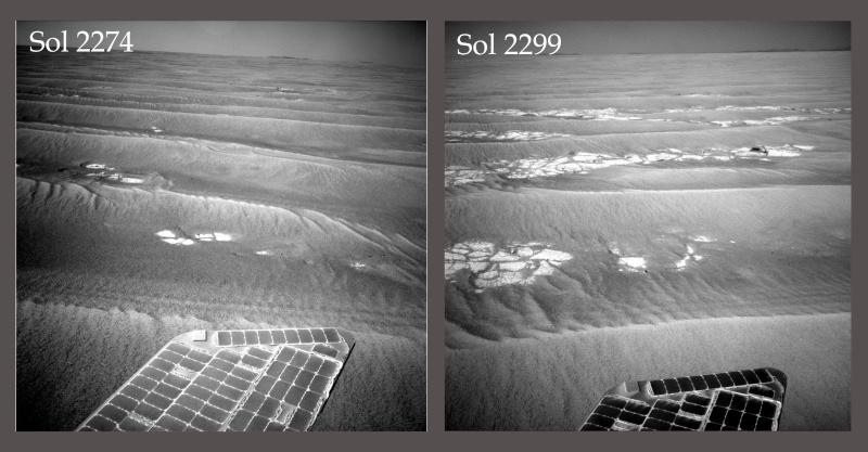 Opportunity va explorer le cratère Endeavour - Page 7 Dust-e10