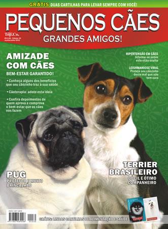 Revista Pequenos Cães - Nas Bancas! Capa_310