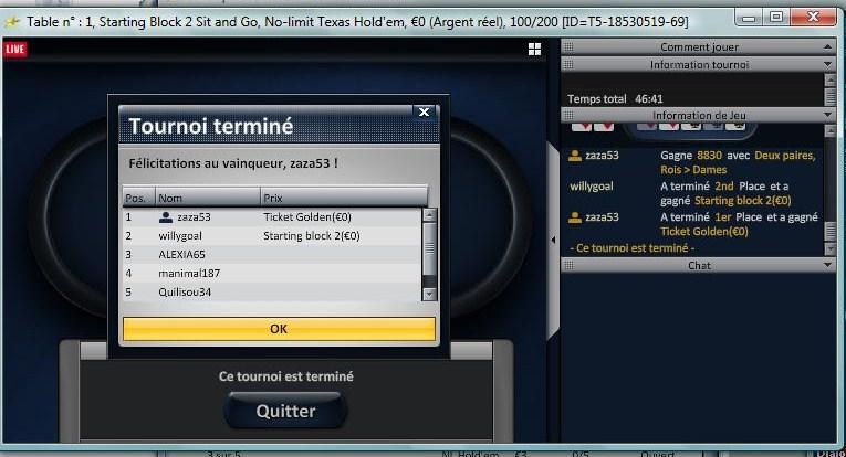 Chaque jours, Freeroll 1000€ sur Eurosport Poker.fr Ticket10