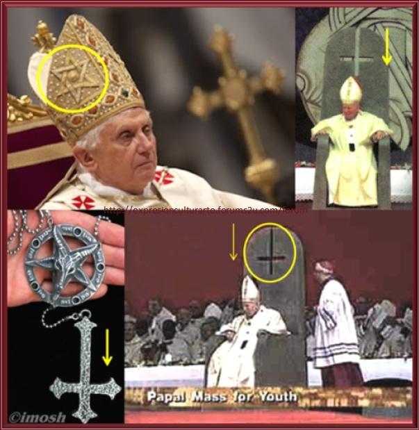 SÍMBOLOS LUCIFERIANOS EN LA RELIGIÓN Ojodeh10