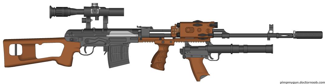 Guns Delux Svd_mo10