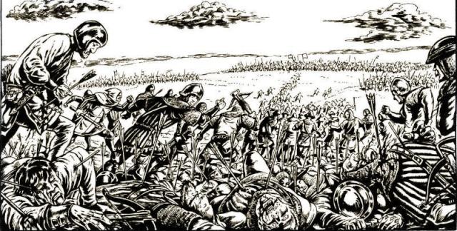 Bataille de Crecy Crecy110