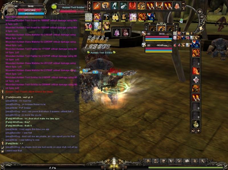 [NO BAN]Baxxxter/EvilDog, UoF, Kill Stealing Shaiya12