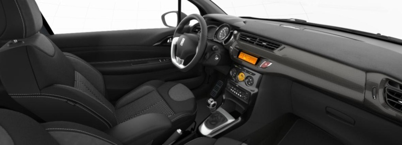 DS3 1.6 THP 150 SportChic / Gris Thorium - Toit Noir Onyx Ds3_in10