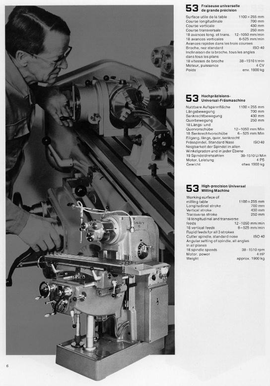 Schaublin 53 & 53N Sv53-710